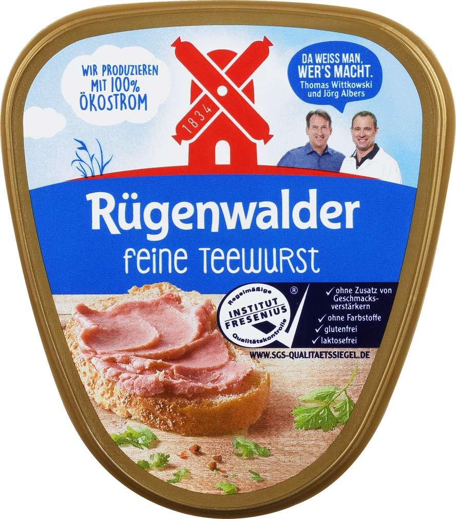 Abbildung des Sortimentsartikels Rügenwalder Mühle Rügenwalder feine Teewurst 125g