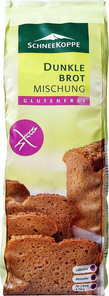 Abbildung des Sortimentsartikels Schneekoppe Dunkle Brotmischung glutenfrei 1kg