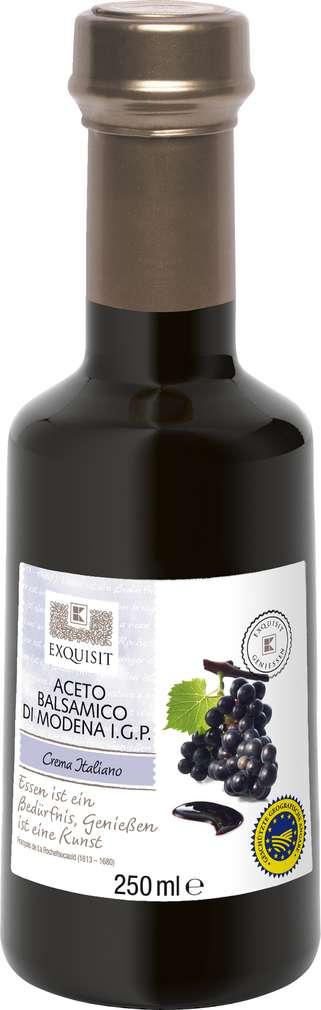 Abbildung des Sortimentsartikels Exquisit Aceto Balsamico di Modena I.G.P. Crema Italiano 250ml