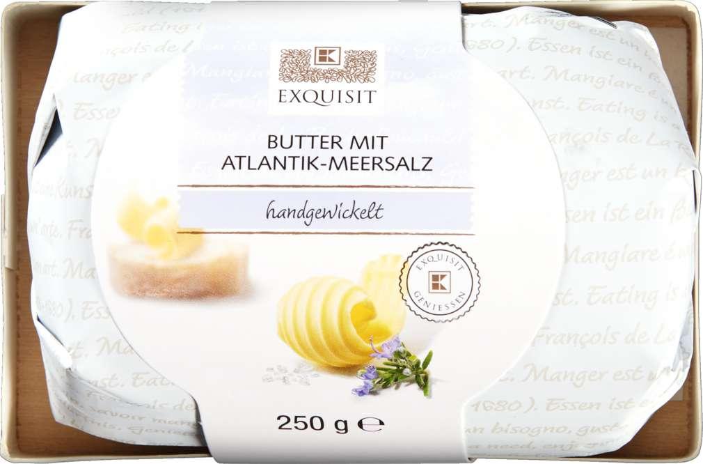 Abbildung des Sortimentsartikels Exquisit Meersalzbutter 250g