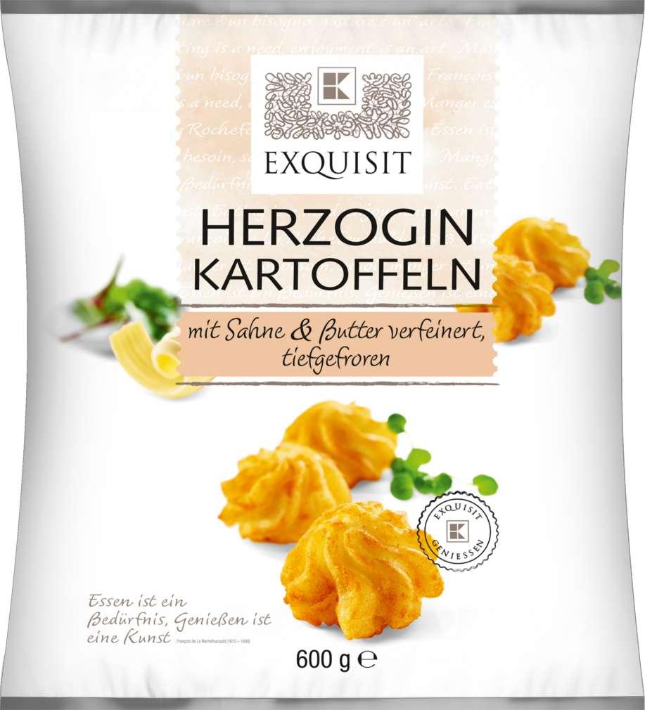 Abbildung des Sortimentsartikels Exquisit Herzogin Kartoffeln 600g