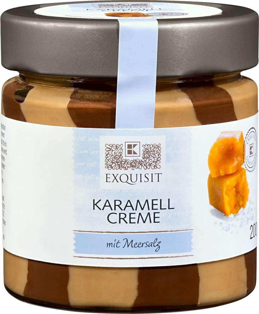 Abbildung des Sortimentsartikels Exquisit Creme Duett mit Karamell & Meersalz 200g