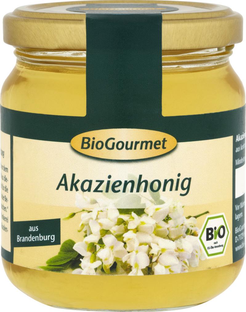 Abbildung des Sortimentsartikels BioGourmet Akazienhonig 250g