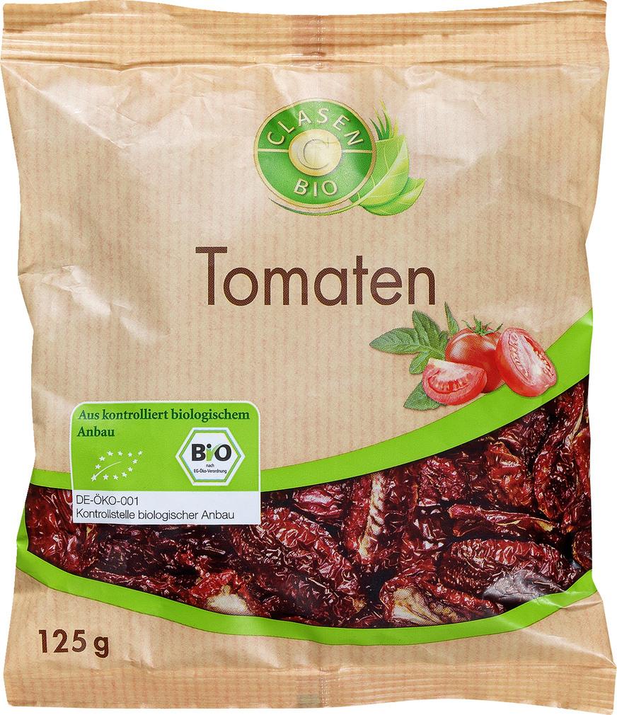 Abbildung des Sortimentsartikels Clasen Bio Tomaten 125g