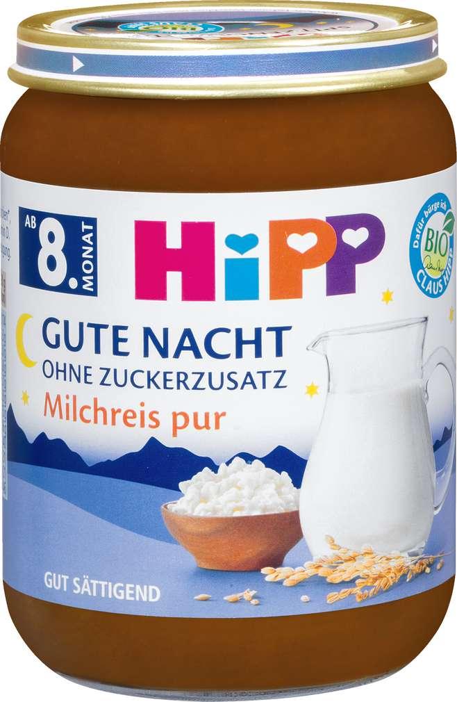 Abbildung des Sortimentsartikels Hipp Milchreis pur 190g
