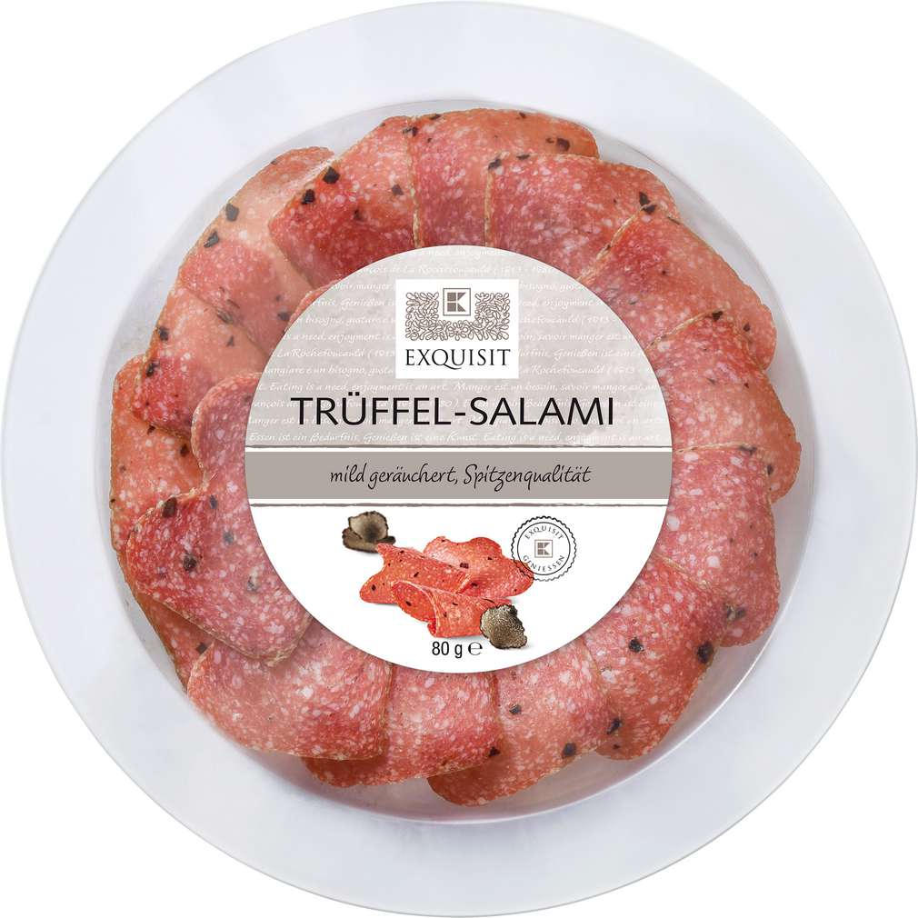 Abbildung des Sortimentsartikels Exquisit Trüffel-Salami 80g