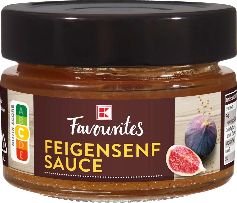 Abbildung des Sortimentsartikels Exquisit Fruchtsenf Sauce Feige 120g