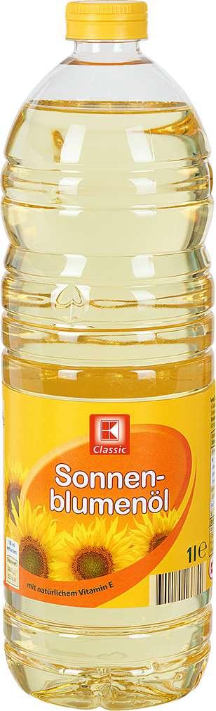 Abbildung des Sortimentsartikels K-Classic Sonnenblumenöl 1l