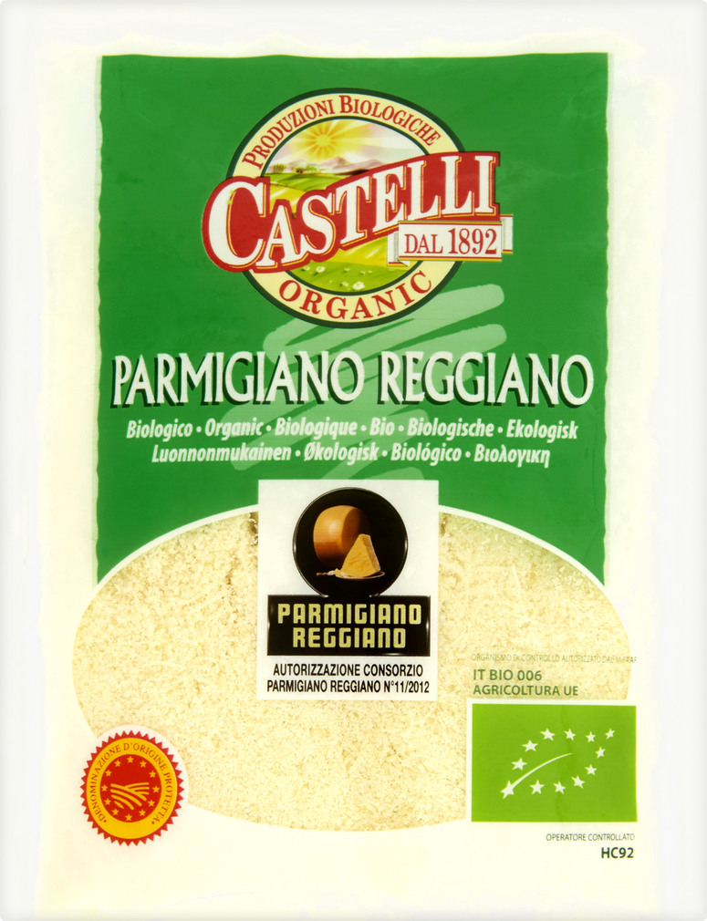 Abbildung des Sortimentsartikels Castelli Parmigiano Reggiano Bio 50g
