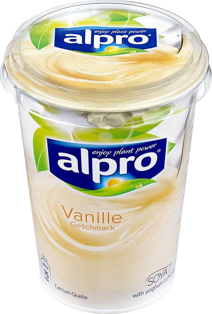 Abbildung des Sortimentsartikels Alpro Soja-Joghurtalternative Vanille 500g