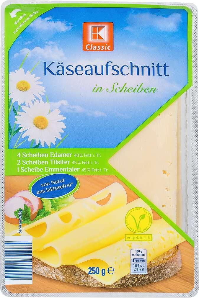 Abbildung des Sortimentsartikels K-Classic Käseaufschnitt