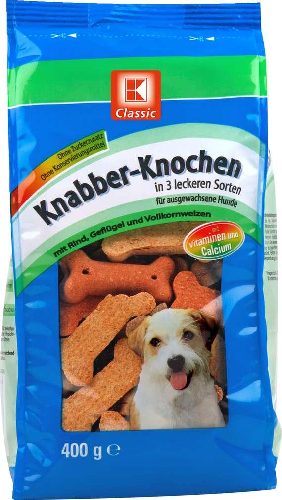 Abbildung des Sortimentsartikels K-Classic Knabber-Knochen 400g
