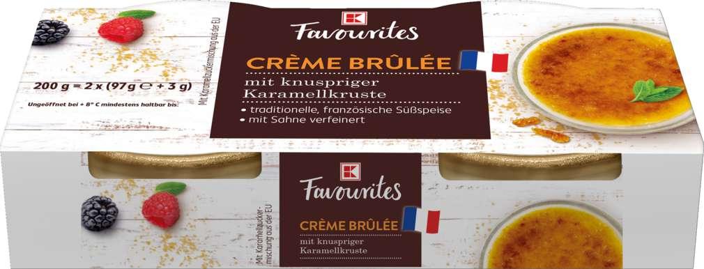 Abbildung des Sortimentsartikels Exquisit Crème Brûlée 200g, 2 Stück