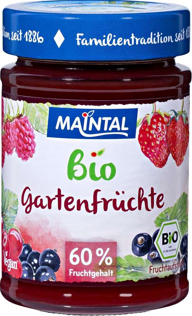 Abbildung des Sortimentsartikels Maintal Bio Gartenfrüchte 210g