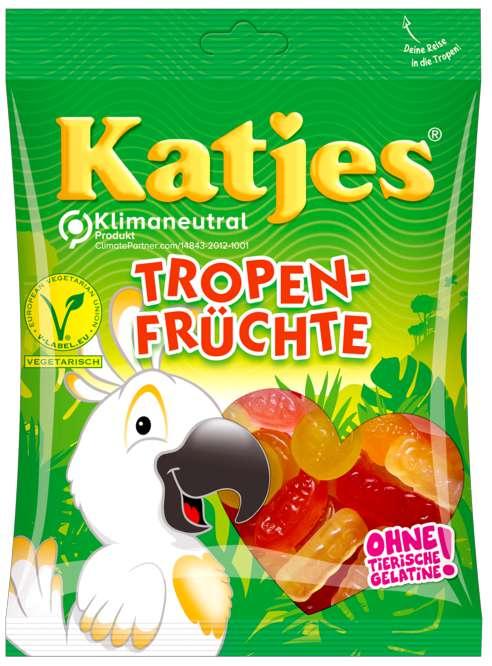 Abbildung des Sortimentsartikels Katjes Tropen-Früchte 200g