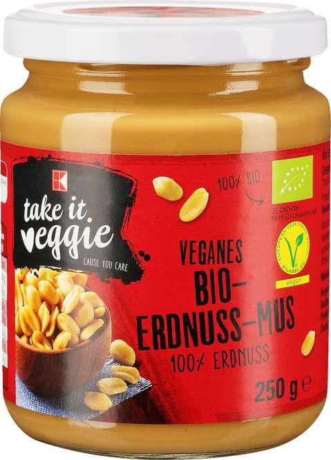 Abbildung des Sortimentsartikels K-Take it Veggie Bio-Erdnuss-Mus 250g