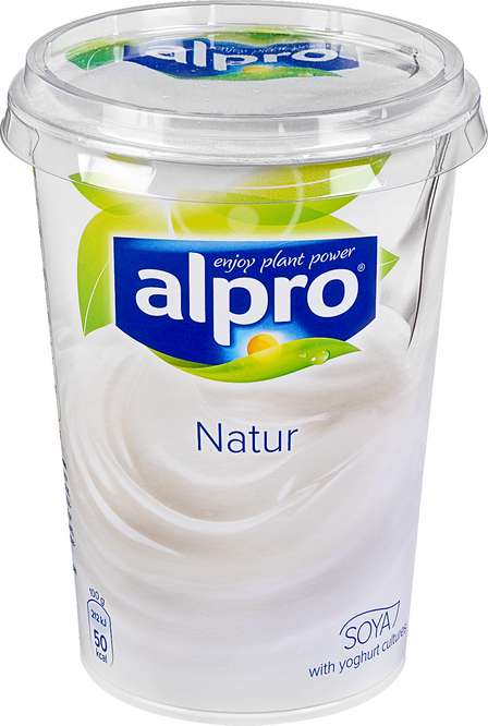 Abbildung des Sortimentsartikels Alpro Naturjoghurt 500g