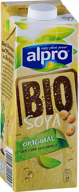 Abbildung des Sortimentsartikels Alpro Bio Soja-Drink natur 1l