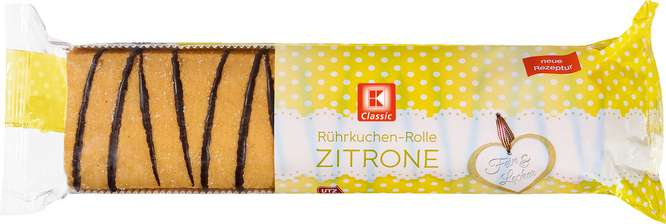 Abbildung des Sortimentsartikels K-Classic Rührkuchenrolle Zitrone 400g