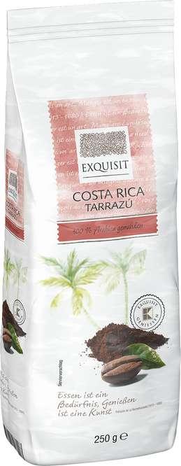 Abbildung des Sortimentsartikels E Costa Rico Tarrazú 100% Arabica gemahlen 250g