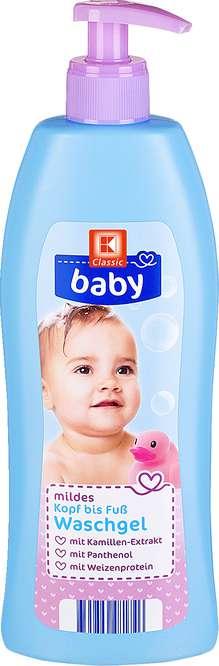 Abbildung des Sortimentsartikels K-Classic Baby Waschgel 500ml