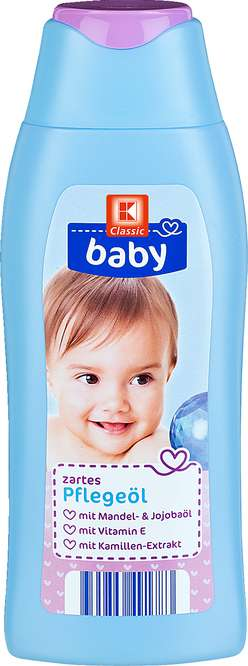 Abbildung des Sortimentsartikels K-Classic Baby Pflegeöl 250ml