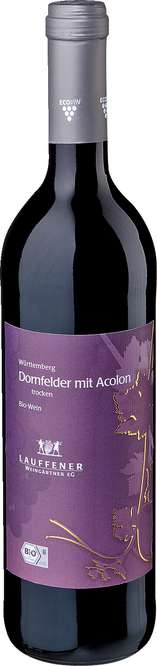 Abbildung des Sortimentsartikels Lauffener Weingärtner Dornfelder mit Acolon trocken 0,75l