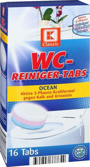 Abbildung des Sortimentsartikels C WC-Reiniger-Tabs Ocean 16 Tabs