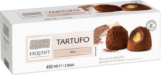 Abbildung des Sortimentsartikels Exquisit Tartufo Nero 3x150ml