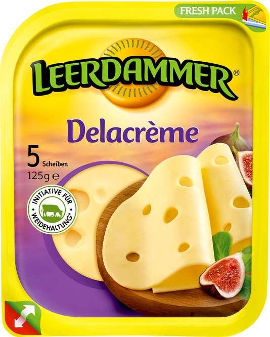Abbildung des Sortimentsartikels Leerdammer Delacrème 5 Scheiben 125g