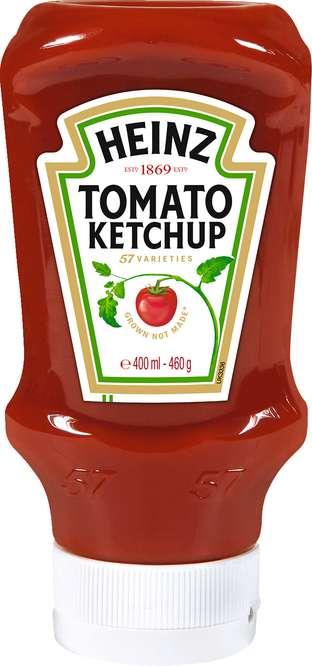 Abbildung des Sortimentsartikels Heinz Tomato Ketchup 400ml