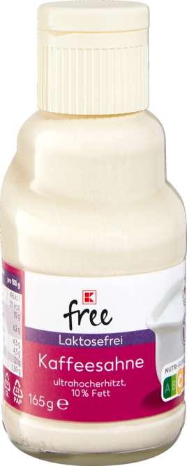 Abbildung des Sortimentsartikels K-Classic Laktosefrei Kaffeesahne 10% 165g