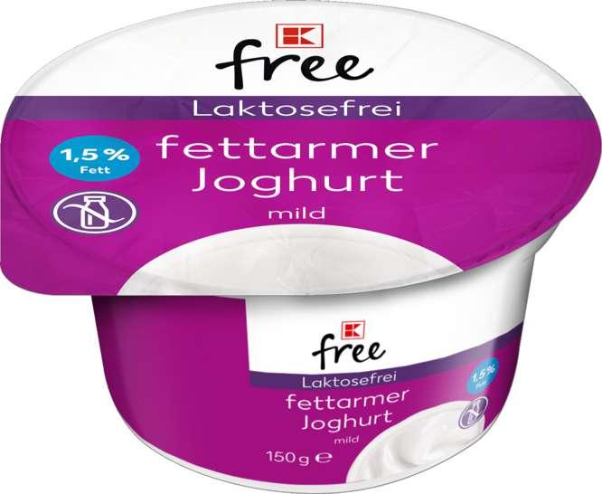 Abbildung des Sortimentsartikels K-Classic Laktosefrei fettarmer Joghurt mild 1,5% 150g