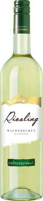 Abbildung des Sortimentsartikels Cultura Vini Riesling halbtrocken 0,75l