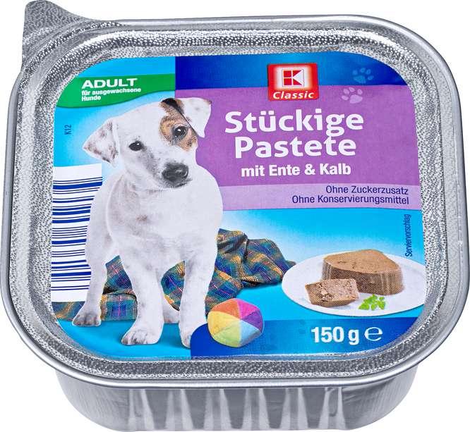 Abbildung des Sortimentsartikels K-Classic Stückige Pastete mit Ente & Kalb 150g