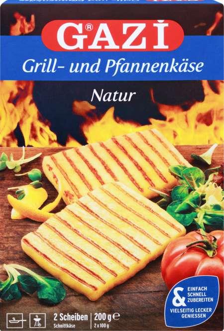 Abbildung des Sortimentsartikels Gazi Grill-und Pfannenkäse Natur 200g