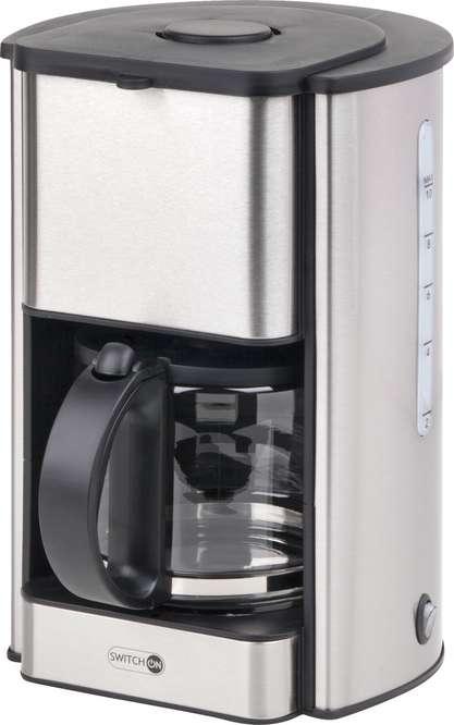 Abbildung des Sortimentsartikels Switch On Kaffeemaschine silber