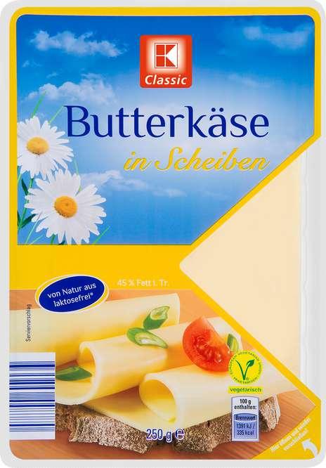 Abbildung des Sortimentsartikels K-Classic Butterkäse in Scheiben 250g