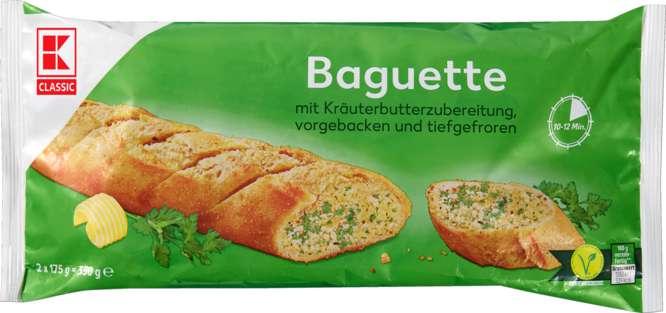 Abbildung des Sortimentsartikels C Kräuterbaguette 350g, 2 Stück