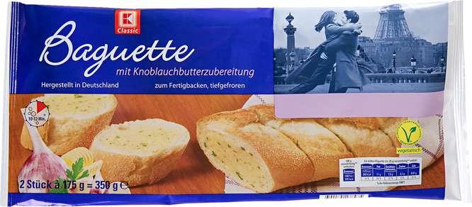 Abbildung des Sortimentsartikels K-Classic Knoblauchbaguette 350g, 2 Stück