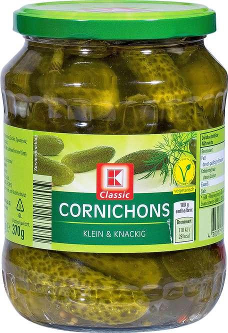 Abbildung des Sortimentsartikels K-Classic Cornichons 720ml
