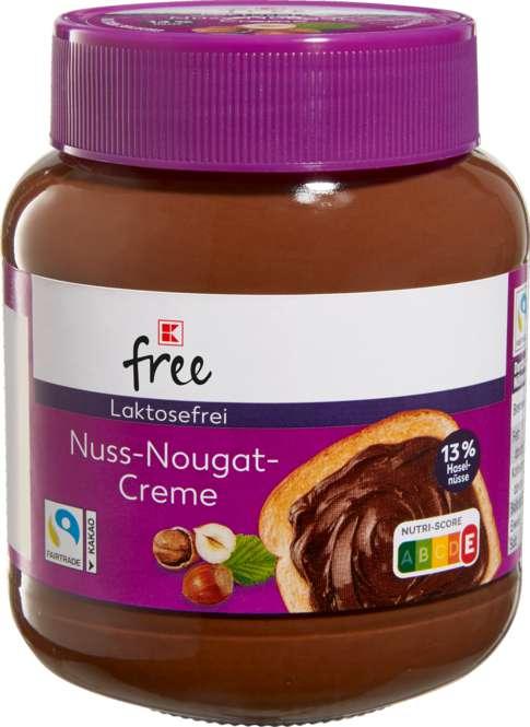 Abbildung des Sortimentsartikels K-Classic Laktosefrei Nussano Nuss-Nougat-Creme - laktosefrei 400g