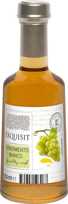 Abbildung des Sortimentsartikels Exquisit Condimento Bianco 250ml