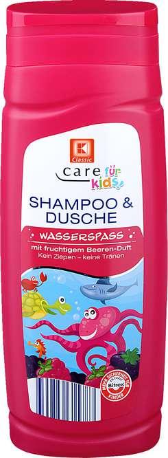 Abbildung des Sortimentsartikels C Care für Kids Shampoo & Dusche Beeren-Duft 300ml