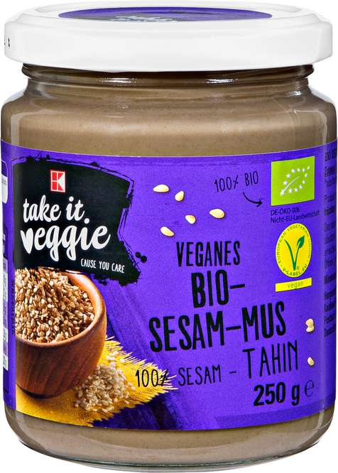 Abbildung des Sortimentsartikels K-Take it Veggie Tahin Sesammus 250g