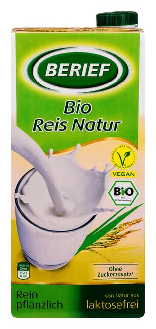 Abbildung des Sortimentsartikels Berief Bio-Reis-Drink Natur 1l