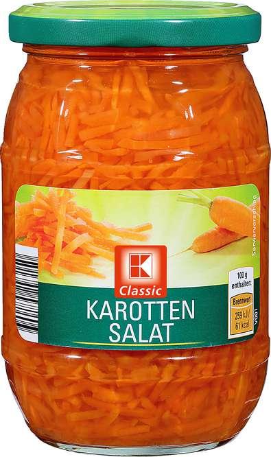 Abbildung des Sortimentsartikels K-Classic Karottensalat 370ml