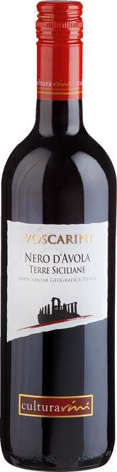 Abbildung des Sortimentsartikels Cultura Vini Voscarini Nero D'Avola 0,75l