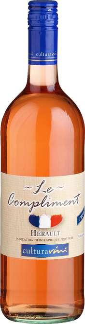 Abbildung des Sortimentsartikels V Le Compliment rosé 1l