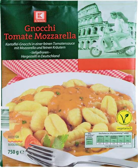 Abbildung des Sortimentsartikels K-Classic Gnocci Tomate Mozzarella 750g